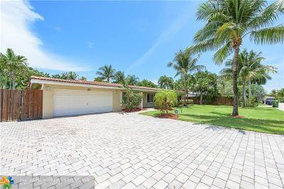 Fort Lauderdale Single Family Home For Sale: 2717 NE 21st Ct