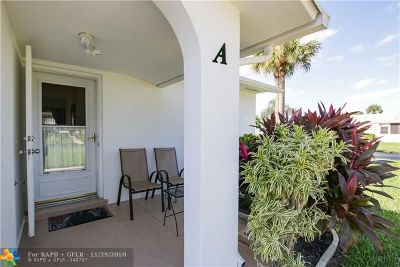West Palm Beach Condo/Townhouse For Sale: 2920 Crosley Dr #A