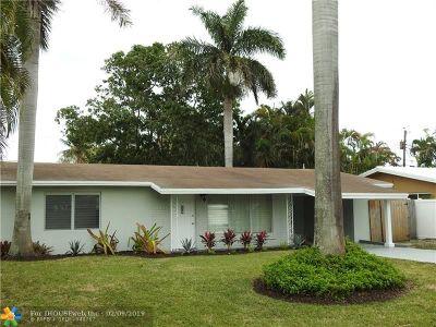 Wilton Manors Single Family Home Backup Contract-Call LA: 3016 NE 2nd Ter