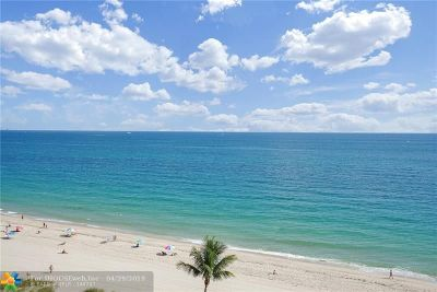 Fountainhead Condo/Townhouse For Sale: 3900 N Ocean Dr #9B
