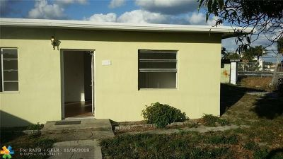 Boynton Beach Single Family Home Backup Contract-Call LA: 918 NW 1st St