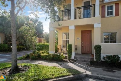 Coconut Creek Condo/Townhouse For Sale: 4680 Mimosa Pl #801