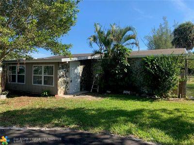 West Palm Beach Single Family Home For Sale: 480 Caroline Ave