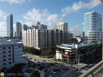Fort Lauderdale Condo/Townhouse For Sale: 100 N Federal Hwy #1134