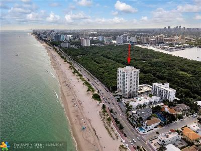 Fort Lauderdale Condo/Townhouse For Sale: 1151 N Fort Lauderdale Beach Blvd #12B