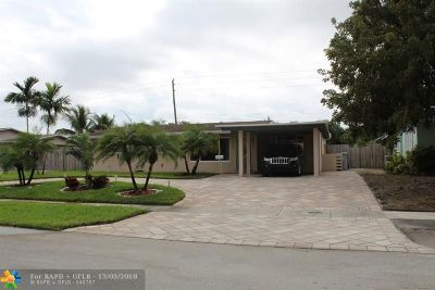 Pompano Beach Single Family Home For Sale: 630 NE 23rd Ct