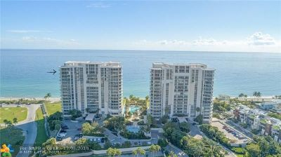 Hollywood Condo/Townhouse For Sale: 6051 N Ocean Dr #1704