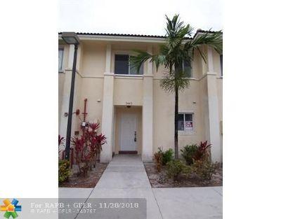Pembroke Park Condo/Townhouse Backup Contract-Call LA: 5445 SW 41st St #5445