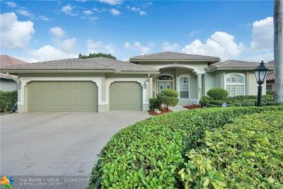 Coral Springs Single Family Home Backup Contract-Call LA: 4911 Chardonnay Dr