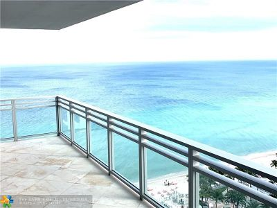 Hollywood Condo/Townhouse For Sale: 3535 S Ocean Dr #2105