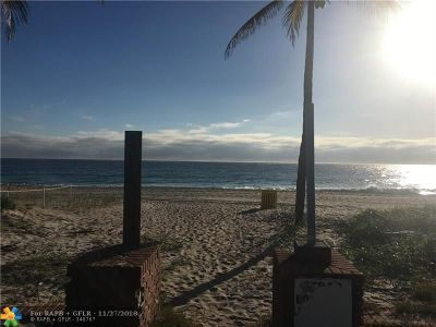 Lauderdale By The Sea Residential Lots & Land For Sale: 4112 El Mar Dr