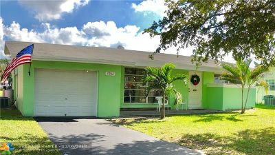 Sunrise Single Family Home For Sale: 2902 NW 73rd Ave
