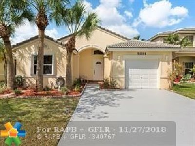 Tamarac Single Family Home For Sale: 5891 E Grand Duke Cir