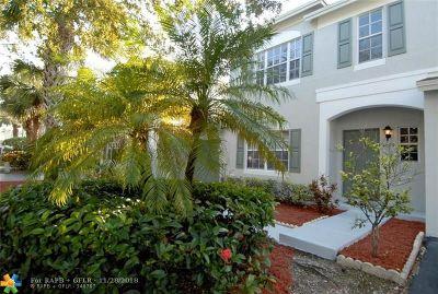 Tamarac Condo/Townhouse For Sale: 6009 Harbor Isle Way #498