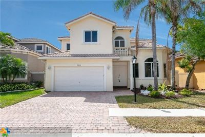 Coral Springs Single Family Home For Sale: 5856 NW 122nd Dr