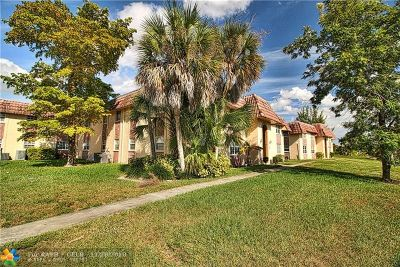 Coral Springs Condo/Townhouse For Sale: 8107 NW 27th St #1