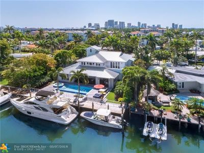 Cooper City, Coral Springs, Fort Lauderdale, Hallandale, Hillsboro Beach, Hollywood, Lighthouse Point, Oakland Park, Plantation, Pompano Beach, Sunrise, Wilton Manors Single Family Home For Sale: 92 Fiesta Way