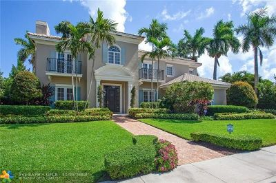 Cooper City, Coral Springs, Fort Lauderdale, Hallandale, Hillsboro Beach, Hollywood, Lighthouse Point, Oakland Park, Plantation, Pompano Beach, Sunrise, Wilton Manors Single Family Home For Sale: 712 SE 25th Ave