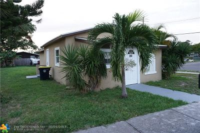 Dania Beach Single Family Home For Sale: 245 NW 6th Ave