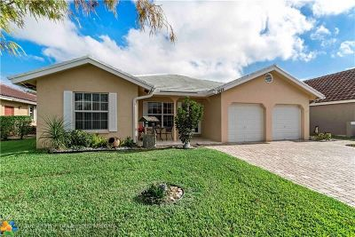 Coral Springs Single Family Home Backup Contract-Call LA: 1649 NW 106th Ln