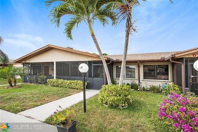 Delray Beach Condo/Townhouse For Sale: 5781 Wanda Ln #5781