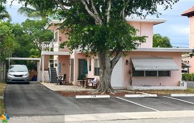 Lauderdale By The Sea Multi Family Home For Sale: 4521 Poinciana St
