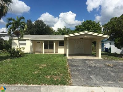 Lauderhill Single Family Home For Sale: 3611 NW 9th St