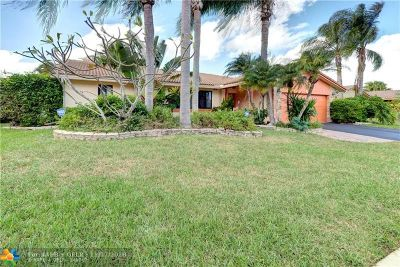 Margate Single Family Home Backup Contract-Call LA: 7611 Sunflower Dr