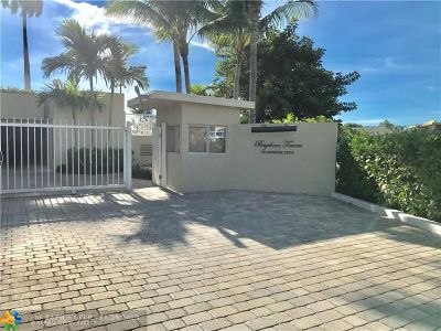 Fort Lauderdale Condo/Townhouse For Sale: 511 Bayshore Dr #PH6