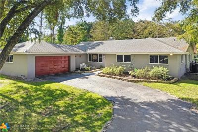 Parkland Single Family Home For Sale: 5893 NW 69th Way