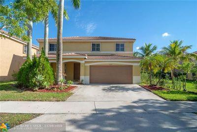 Weston Single Family Home For Sale: 1080 Allamanda Way