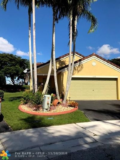 Weston Single Family Home Backup Contract-Call LA: 1229 Majesty Ter
