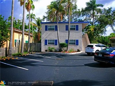 Fort Lauderdale Multi Family Home For Sale: 1505 NE 5th Ct