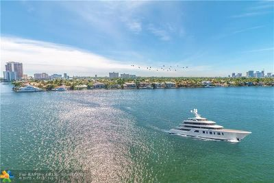 Fort Lauderdale Condo/Townhouse For Sale: 511 Bayshore Dr #807