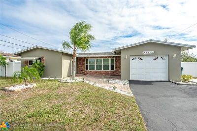 Oakland Park Single Family Home For Sale: 4400 NW 19th Ter