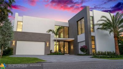 Lauderdale By The Sea Single Family Home For Sale: 4232 E Tradewinds Ave
