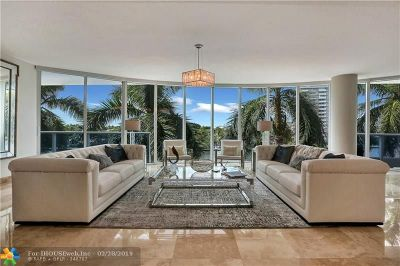 Fort Lauderdale Condo/Townhouse For Sale: 715 Bayshore Dr #402