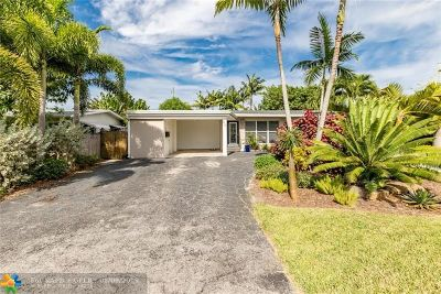 Wilton Manors Single Family Home For Sale: 241 NW 30th Ct