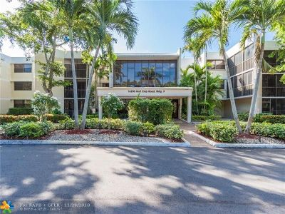 Weston Condo/Townhouse Backup Contract-Call LA: 16200 Golf Club Rd #311