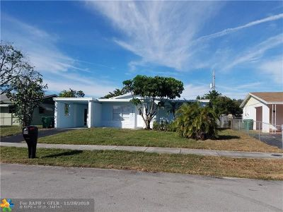 Lauderhill Single Family Home For Sale: 3281 NW 15th Ct