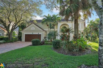 Coral Springs Single Family Home For Sale: 7609 Parkview Way