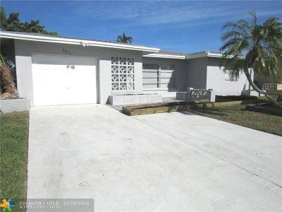 Tamarac Single Family Home Backup Contract-Call LA: 7411 NW 58th Ct