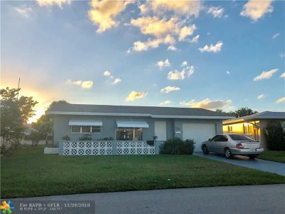 Tamarac Single Family Home For Sale: 4705 NW 47th Ter