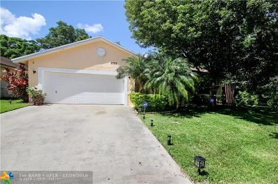Coconut Creek Single Family Home Backup Contract-Call LA: 3723 NW 59th St