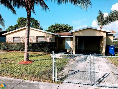 Fort Lauderdale Single Family Home For Sale: 2119 NW 27th Ter
