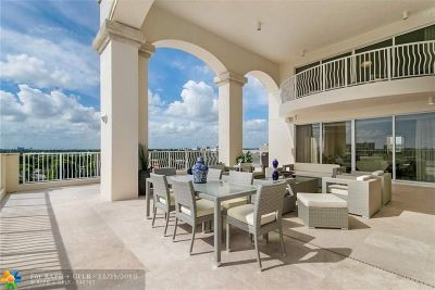 Fort Lauderdale FL Condo/Townhouse For Sale: $2,995,000