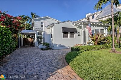 Fort Lauderdale Single Family Home For Sale: 1405 NE 4th Pl