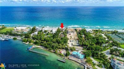 Hillsboro Beach Residential Lots & Land For Sale: 925 Hillsboro Mile