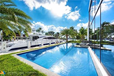 Fort Lauderdale FL Single Family Home For Sale: $7,495,000