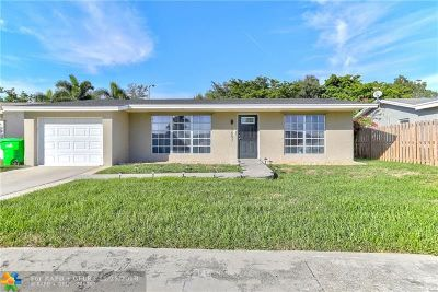 Sunrise Single Family Home Backup Contract-Call LA: 11651 NW 33rd St